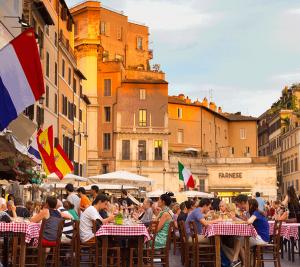 Local food Rome