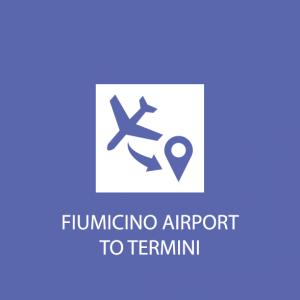 Rome transportation fiumicino to termini