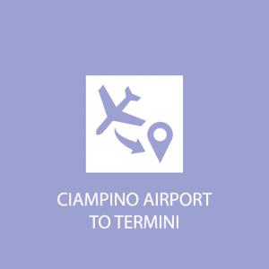 Rome transportation ciampino airport to termini