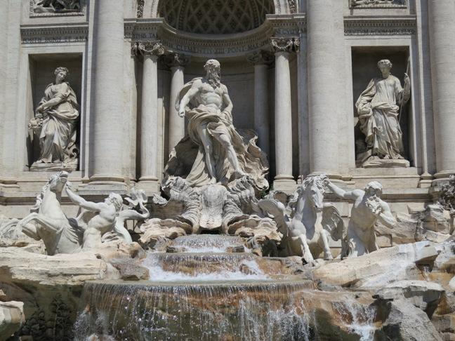 Trevi Fountain, Rome – The largest and most famous fountain in Rome