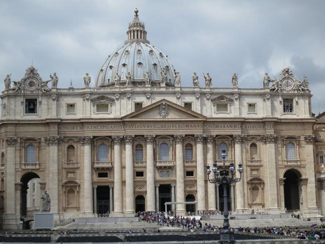 St. Peter's Basilica: simply breath-taking